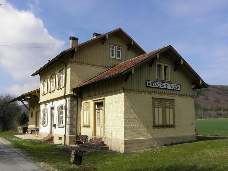 Alter Bahnhof Riedöschingen