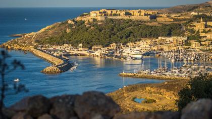 Der Hafen Mgarr