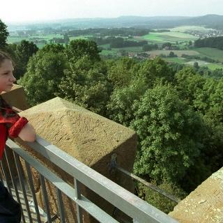Ausblick vom Turm der Burg Ravensberg