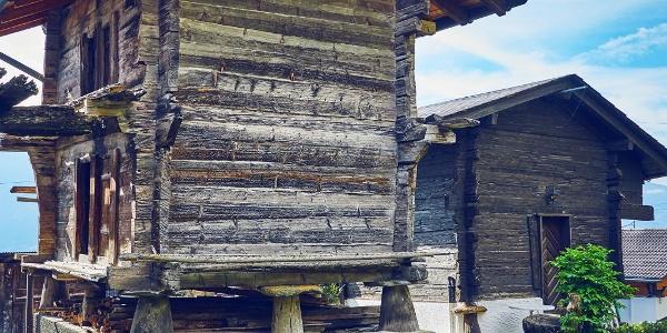 Walliser Stafel in Chermignon