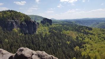 Foto Aussicht auf den Rauschenstein