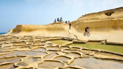 Die Salzpfannen von Xwejni Bay