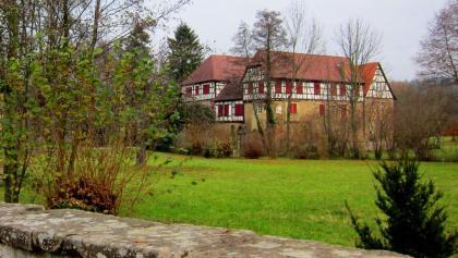 Ehemaliges Wasserschloss von Kürnbach