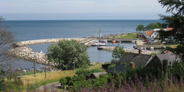 Baskemölla hamn