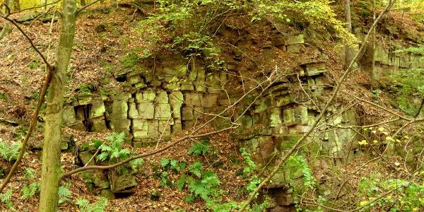 alter Steinbruch bei Blankenau