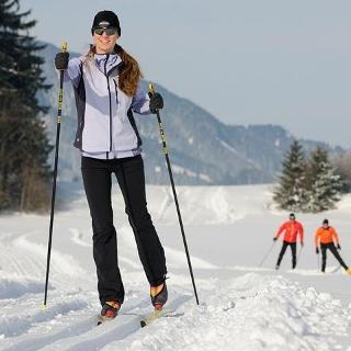 Langlauf in Weißensee