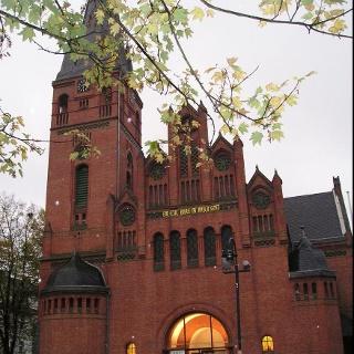 Evangelische Christuskirche in Leverkusen-Wiesdorf