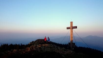 Gipfel des Rennfelds im Morgenlicht