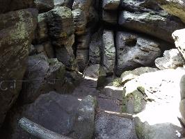 Foto Der Ostabstieg vom Gohrisch von oben
