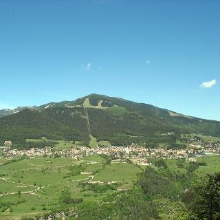 Folgaria dal punto panoramico del Belvedere