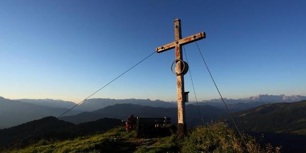 """Gipfelkreuz Kitzstein """"Gabel"""""""