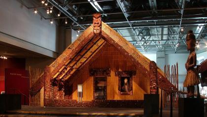 Versammlungshaus der Maori