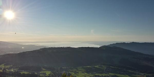 Blick auf den Bodensee vom Brüggelekopf