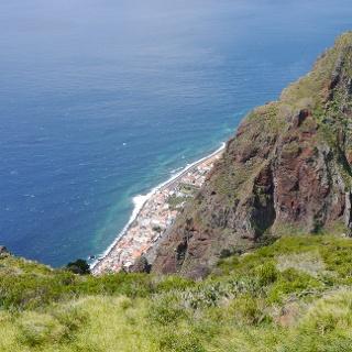 Aussichtspunkt an der Westküste Madeiras