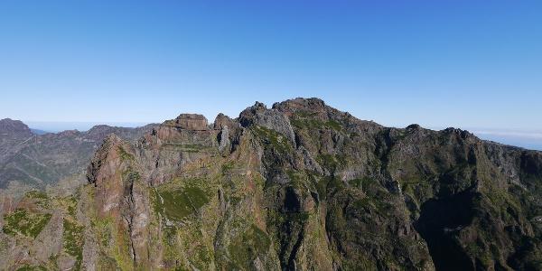 Ausblick auf den Pico das Torres