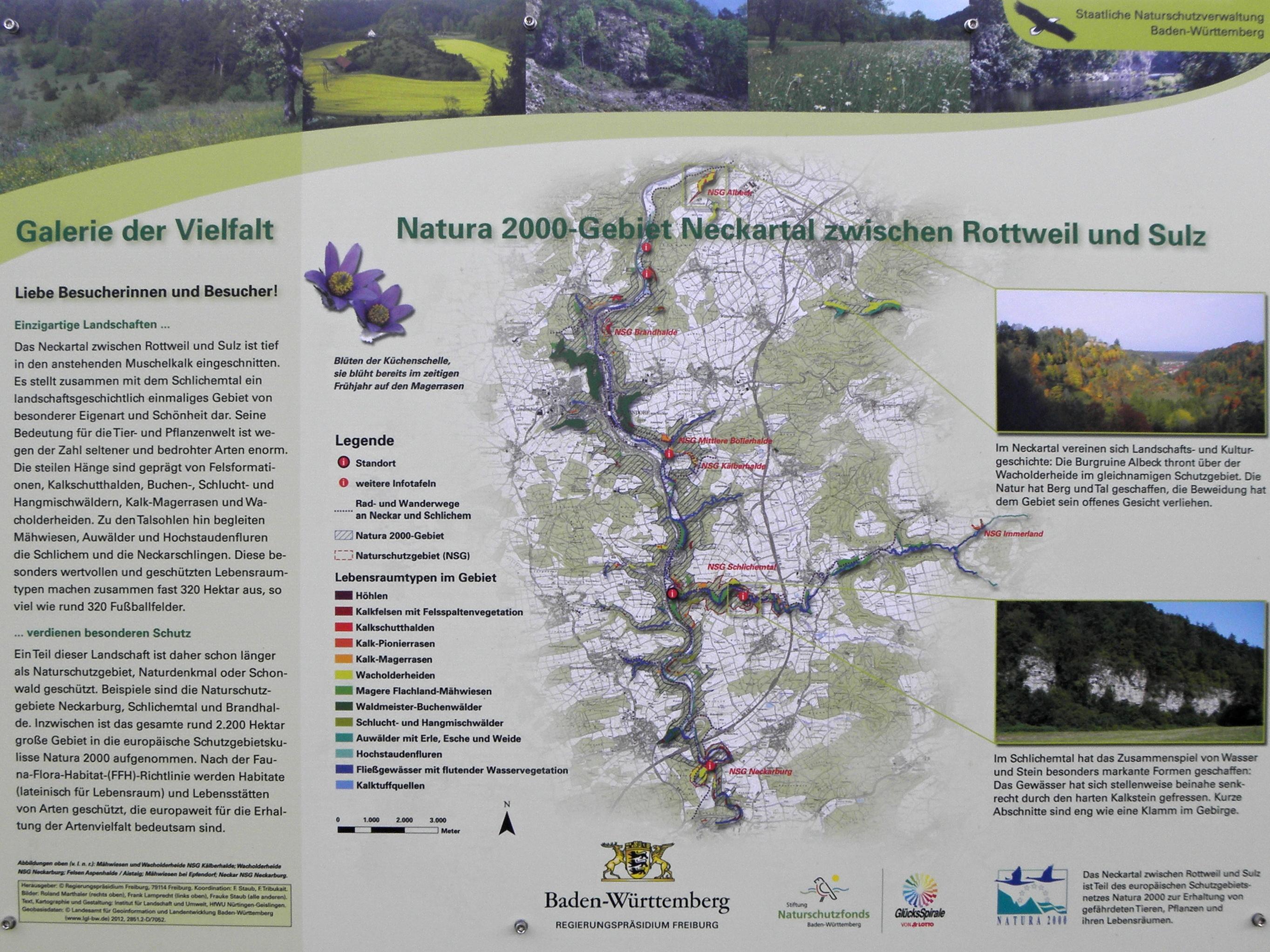 Naturschutzgebiet Schlichemtal