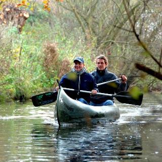 Kanu paddeln fahren Lachte Aller Norden Celle Niedersachsen