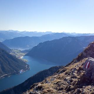 Einzigartiges Panorama von der Seekarspitze