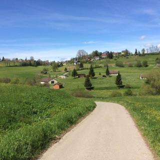 Blick auf Römlinsdorf