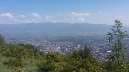 View from Vodno.