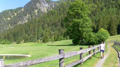 Golfplatz Panoramaweg Erpfendorf
