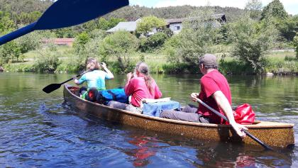 Mit dem Kanu auf der Regent