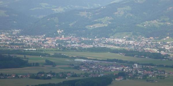 Blick auf Wolfsberg
