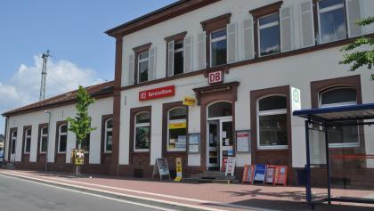 Bahnhof Neckargmünd