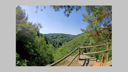 Eifelsteig Etappe 3: Monschau - Einruhr_Eifel-Blick: Monschau-Rohren (Perdsley)