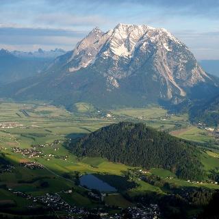 Grimming mit Putterersee von ca. 1300m