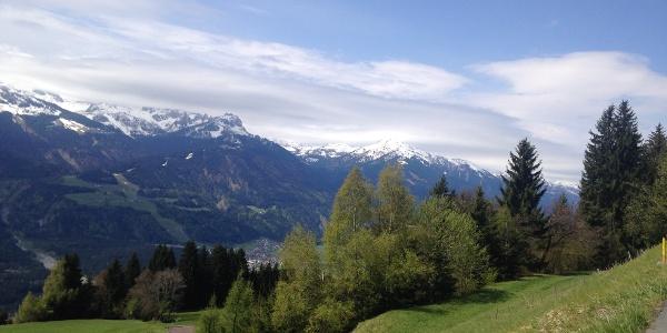 Ausblick am Guggenberg