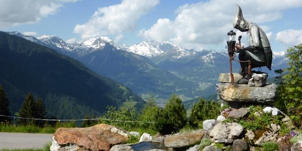 Panoramaaussicht vom Kristberg