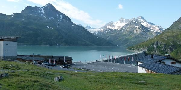 Silvretta-Bielerhöhe mit Silvrettasee