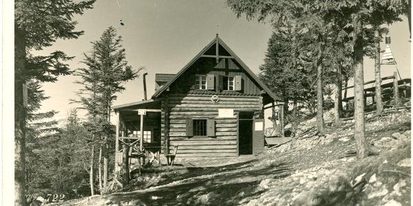 Gauermann-Hütte, Dürre Wand, anno 1933