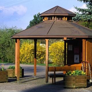 Eckwälden Wanderparkplatz/Bushaltestelle