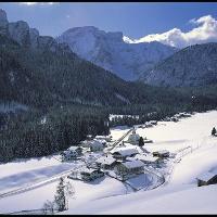Winterlandschaft von Prags