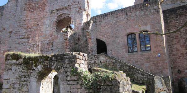 Burg Nanstein b. Landstuhl