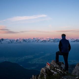 Sonnenaufgang auf der Erlspitze – jedes Frühaufstehen wert!