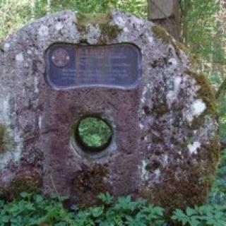 Mühlstein Enge Schlucht