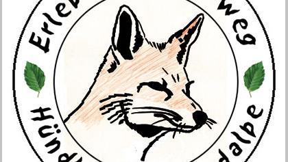 Der Fuchs wird euch auf dem Erlebniswanderweg begleiten.