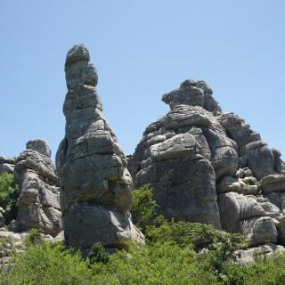Die Karstlandschaft des Torcal