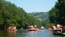 Saale - Wasserwandern von Uhlstädt bis Kahla - Etappe 7