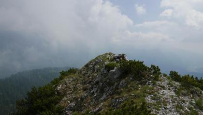 Der Gipfel des Crete dal Cronz