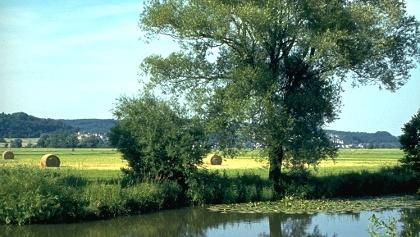 An der Blies, dem Grenzfluss zu Frankreich