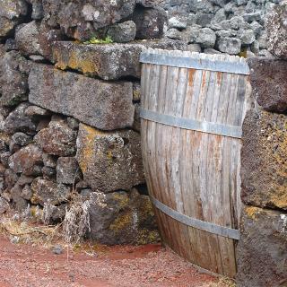 Eingang zum Weingarten