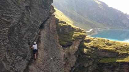 Via Ferrata de Moiry