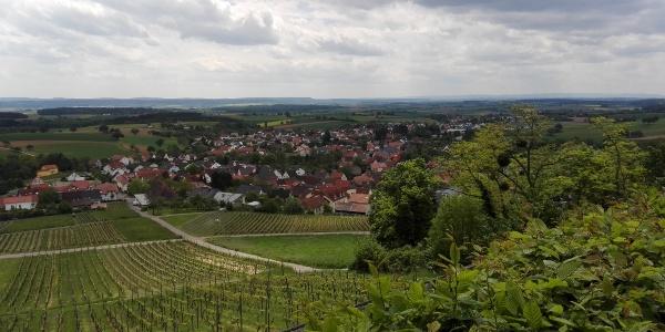 Blick von der Steinsburg