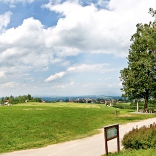 Panoramablick König-Max-Höhe, Kellberg