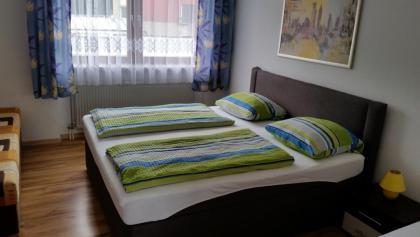 Doppelzimmer im Hotel-Garni Elsenztal
