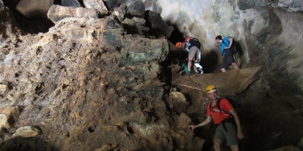 Eingang Grotta dell´Edera